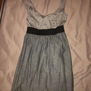 Gray tank top dress